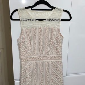 LIKE NEW INC International Lace Cocktail Dress
